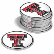 Texas Tech Red Raiders 12-Pack Golf Ball Markers