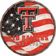 "Texas Tech Red Raiders 16"" Flag Barrel Top"