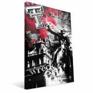 """Texas Tech Red Raiders 16"""" x 24"""" Spirit Canvas Print"""