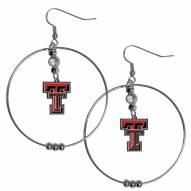 """Texas Tech Red Raiders 2"""""""" Hoop Earrings"""