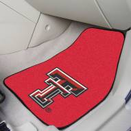 Texas Tech Red Raiders 2-Piece Carpet Car Mats