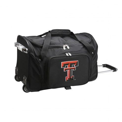 "Texas Tech Red Raiders 22"" Rolling Duffle Bag"