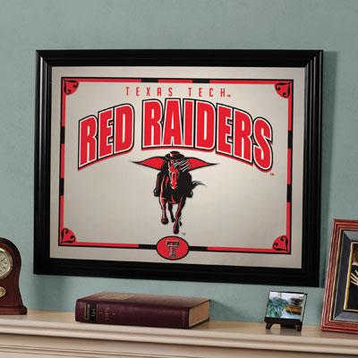 "Texas Tech Red Raiders 23"" x 18"" Mirror"