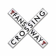 "Texas Tech Red Raiders 24"" Fans Way Crossing Wall Art"