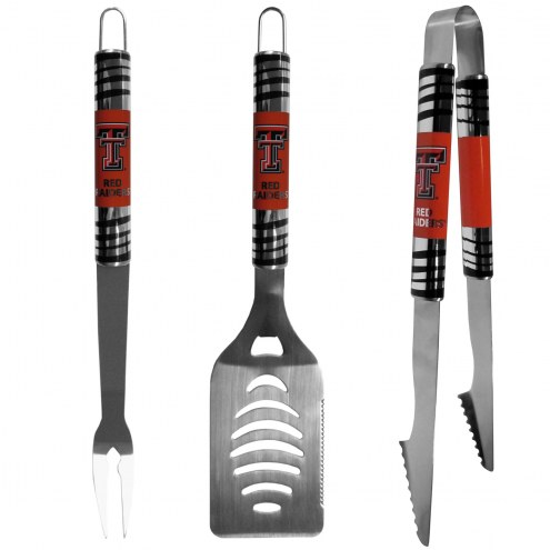 Texas Tech Red Raiders 3 Piece Tailgater BBQ Set