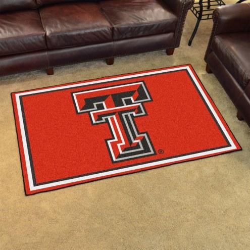 Texas Tech Red Raiders 4' x 6' Area Rug