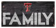 "Texas Tech Red Raiders 6"" x 12"" Family Sign"
