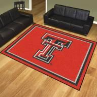 Texas Tech Red Raiders 8' x 10' Area Rug