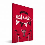 "Texas Tech Red Raiders 8"" x 12"" Little Man Canvas Print"