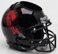 Texas Tech Red Raiders Alternate 11 Schutt Football Helmet Desk Caddy