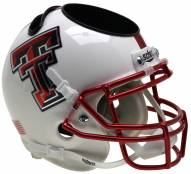 Texas Tech Red Raiders Alternate 13 Schutt Football Helmet Desk Caddy
