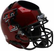 Texas Tech Red Raiders Alternate 14 Schutt Football Helmet Desk Caddy