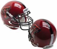 Texas Tech Red Raiders Alternate 14 Schutt XP Collectible Full Size Football Helmet