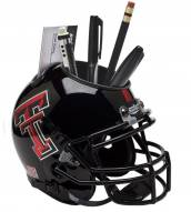 Texas Tech Red Raiders Alternate 4 Schutt Football Helmet Desk Caddy