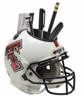 Texas Tech Red Raiders Alternate 5 Schutt Football Helmet Desk Caddy