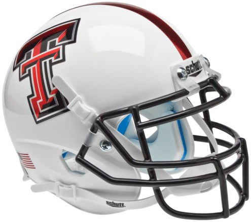 Texas Tech Red Raiders Alternate 5 Schutt XP Collectible Full Size Football Helmet