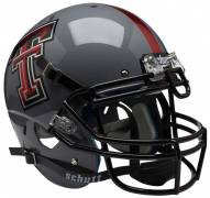 Texas Tech Red Raiders Alternate 6 Schutt XP Authentic Full Size Football Helmet