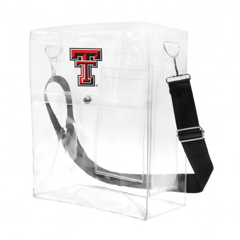Texas Tech Red Raiders Clear Ticket Satchel