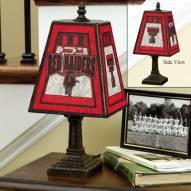 Texas Tech Red Raiders Art Glass Table Lamp