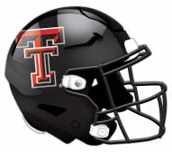 Texas Tech Red Raiders Authentic Helmet Cutout Sign