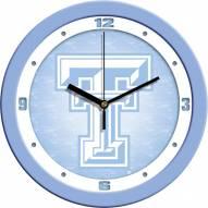 Texas Tech Red Raiders Baby Blue Wall Clock