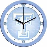 Texas Tech Red Raiders Baby Blue Wall Clock