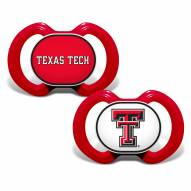 Texas Tech Red Raiders Baby Pacifier 2-Pack