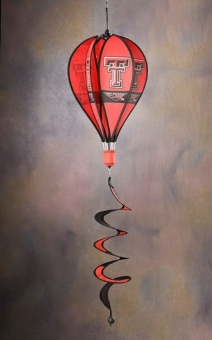 Texas Tech Red Raiders Balloon Wind Spinner
