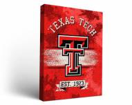 Texas Tech Red Raiders Banner Canvas Wall Art