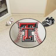 Texas Tech Red Raiders Baseball Rug
