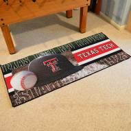 Texas Tech Red Raiders Baseball Runner Rug