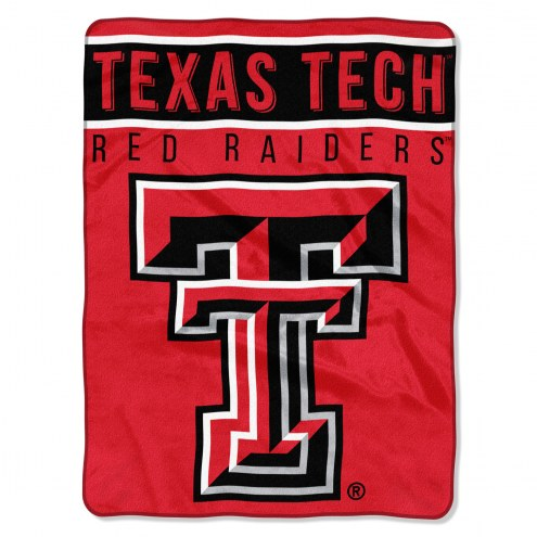 Texas Tech Red Raiders Basic Plush Raschel Blanket