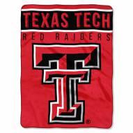 Texas Tech Red Raiders Basic Plush Raschel Blanket