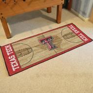 Texas Tech Red Raiders Basketball Court Runner Rug