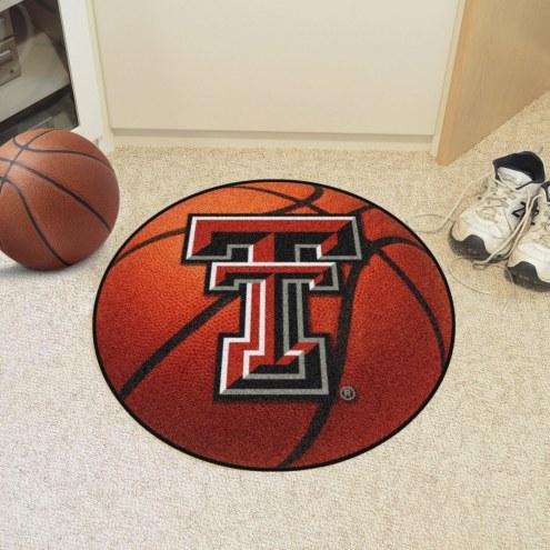 Texas Tech Red Raiders Basketball Mat