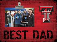 Texas Tech Red Raiders Best Dad Clip Frame