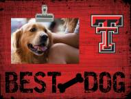 Texas Tech Red Raiders Best Dog Clip Frame
