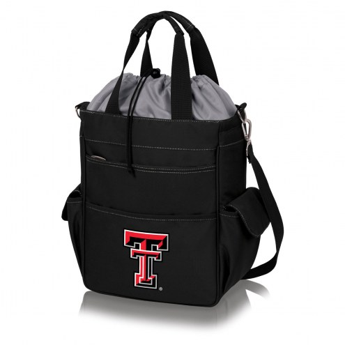 Texas Tech Red Raiders Black Activo Cooler Tote