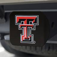 Texas Tech Red Raiders Black Color Hitch Cover