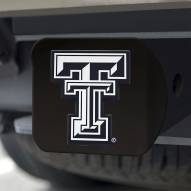 Texas Tech Red Raiders Black Matte Hitch Cover