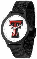 Texas Tech Red Raiders Black Mesh Statement Watch