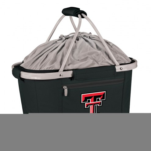Texas Tech Red Raiders Black Metro Picnic Basket