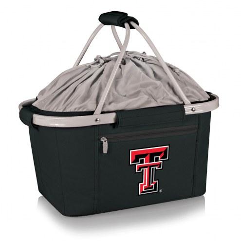 Texas Tech Red Raiders Black Metro Picnic Basket