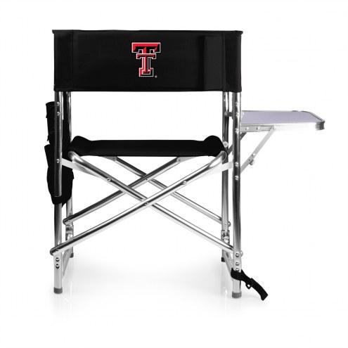 Texas Tech Red Raiders Black Sports Folding Chair