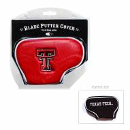 Texas Tech Red Raiders Blade Putter Headcover