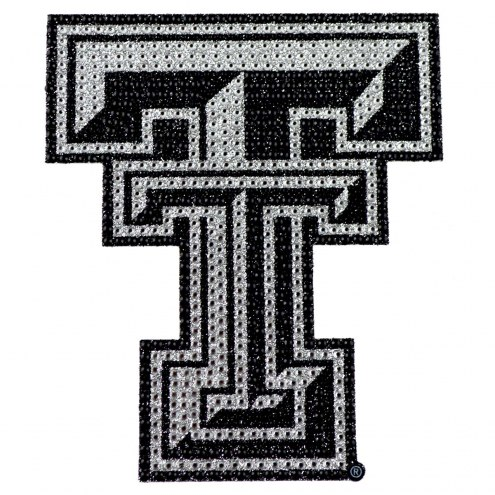 Texas Tech Red Raiders Bling Car Emblem