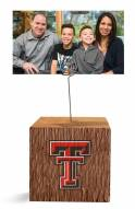 Texas Tech Red Raiders Block Spiral Photo Holder