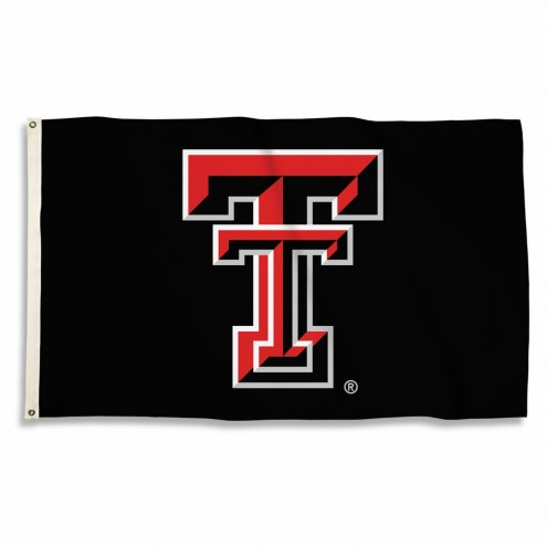 Texas Tech Red Raiders 3' x 5' Black Flag