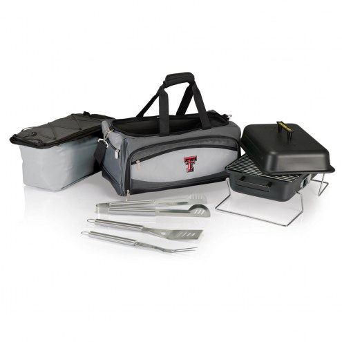 Texas Tech Red Raiders Buccaneer Grill, Cooler and BBQ Set