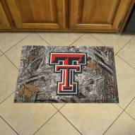 Texas Tech Red Raiders Camo Scraper Door Mat